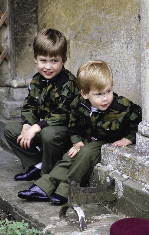 Принц Уильям, принц Гарри