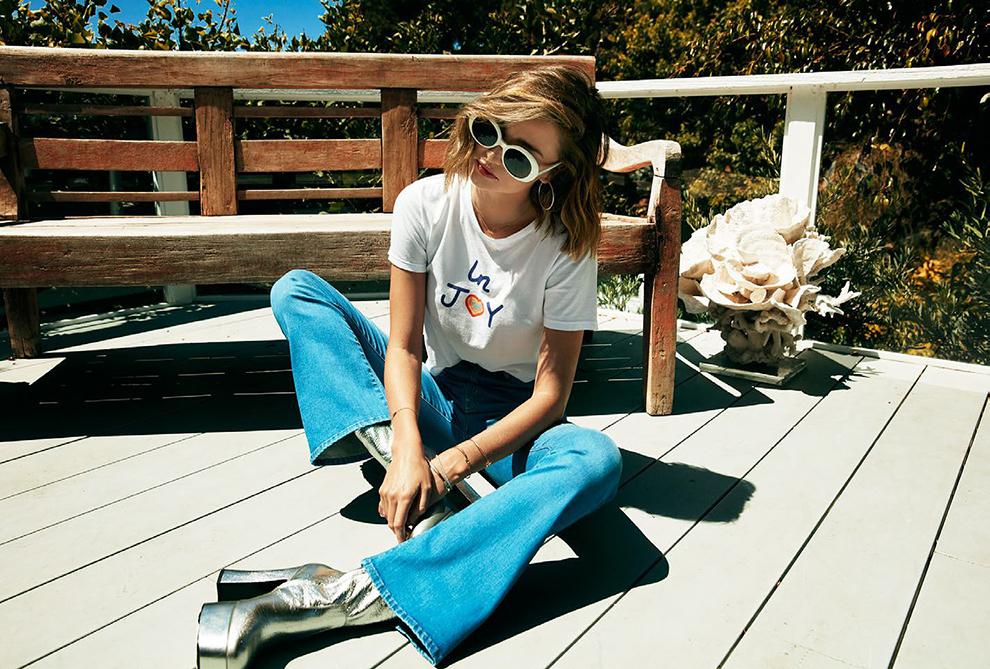 модные джинсы от Миранды Керр
