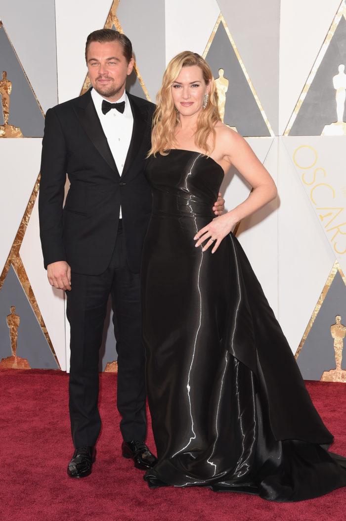 Леонардо ди Каприо и Кейт Уинслет Оскар 2016