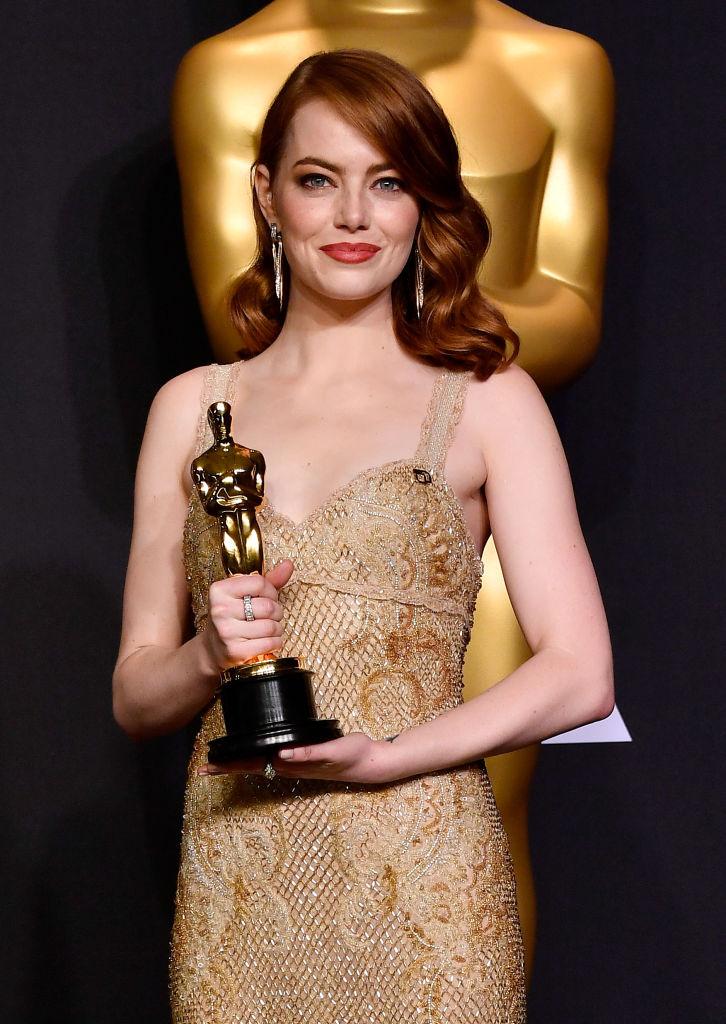 Эмма Стоун Оскар 2017