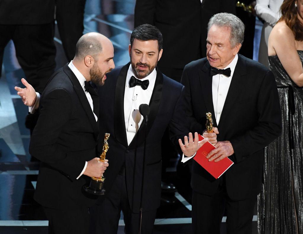 Скандал на Оскаре 2017