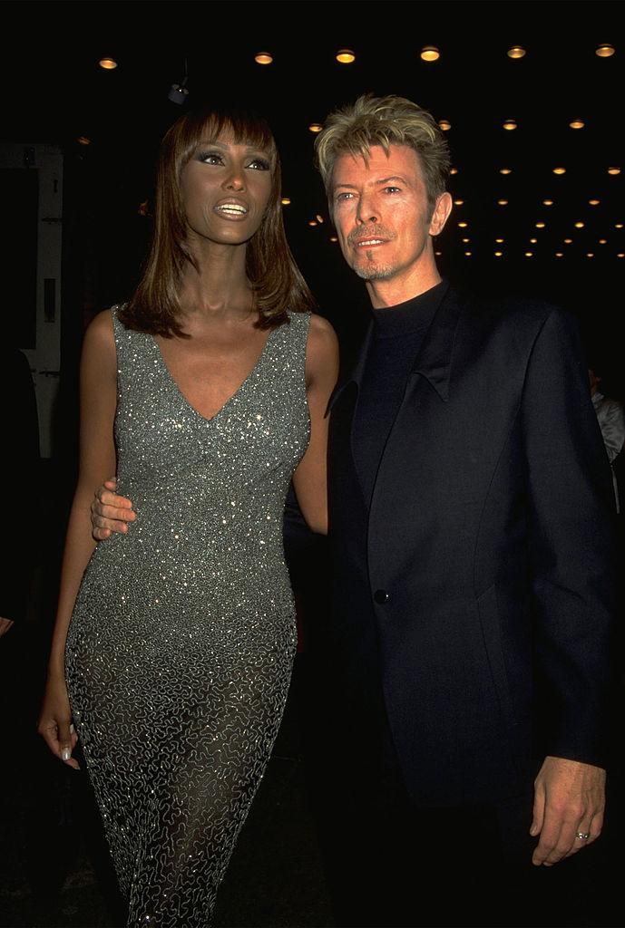 Иман и Дэвид Боуи в 1999 году