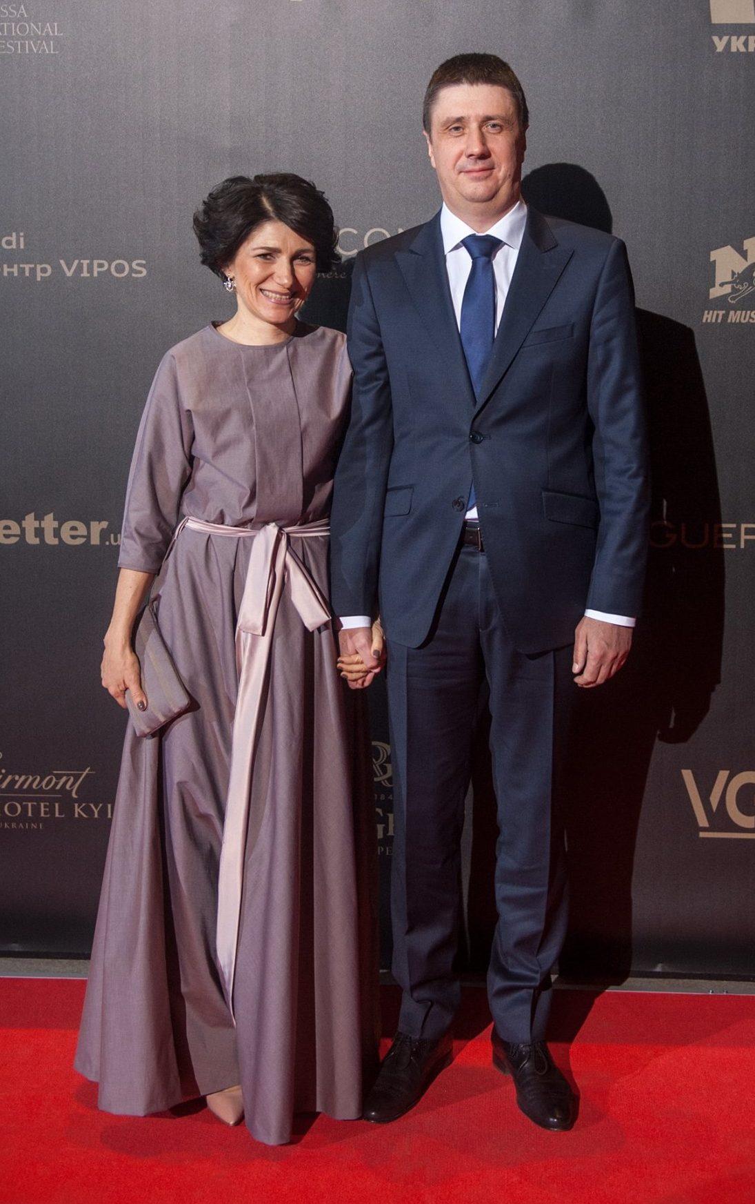 Вячеслав Кириленко с супругой