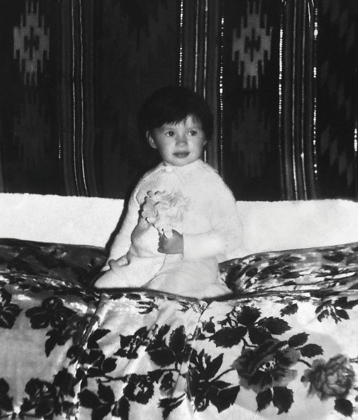 Надя Мейхер в детстве