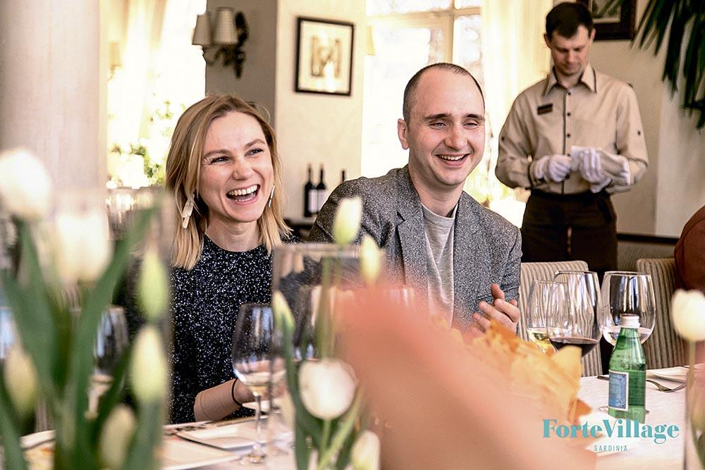 Елена Заяц и Алексей Тарасов