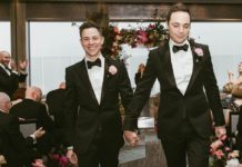 Джим Парсонс свадьба