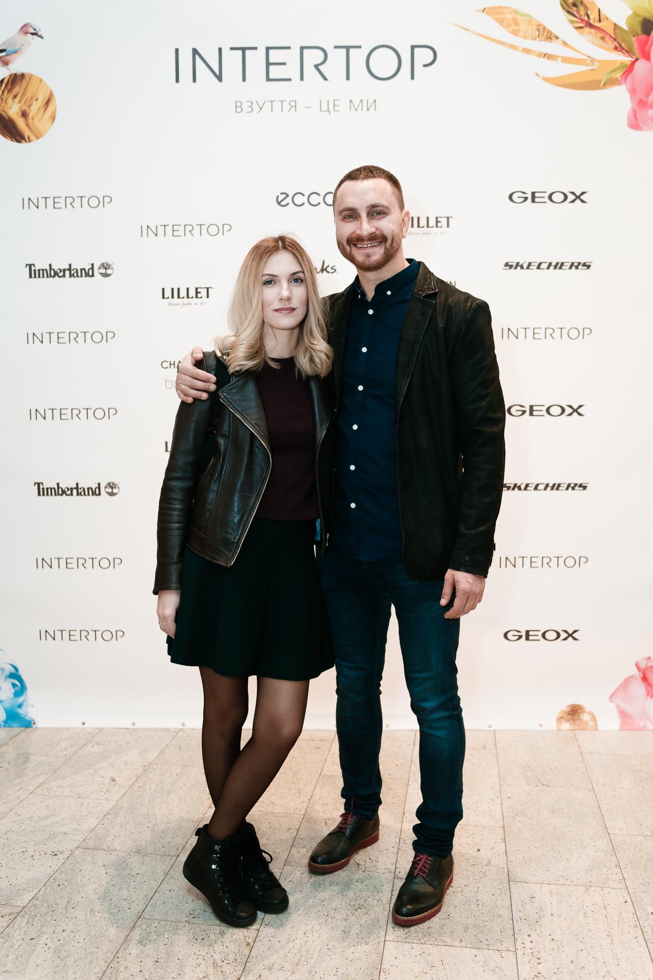 Олег Собчук с женой