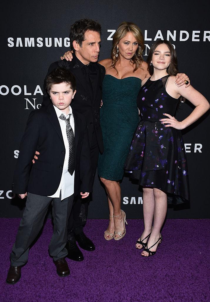 Бен Стиллер семья