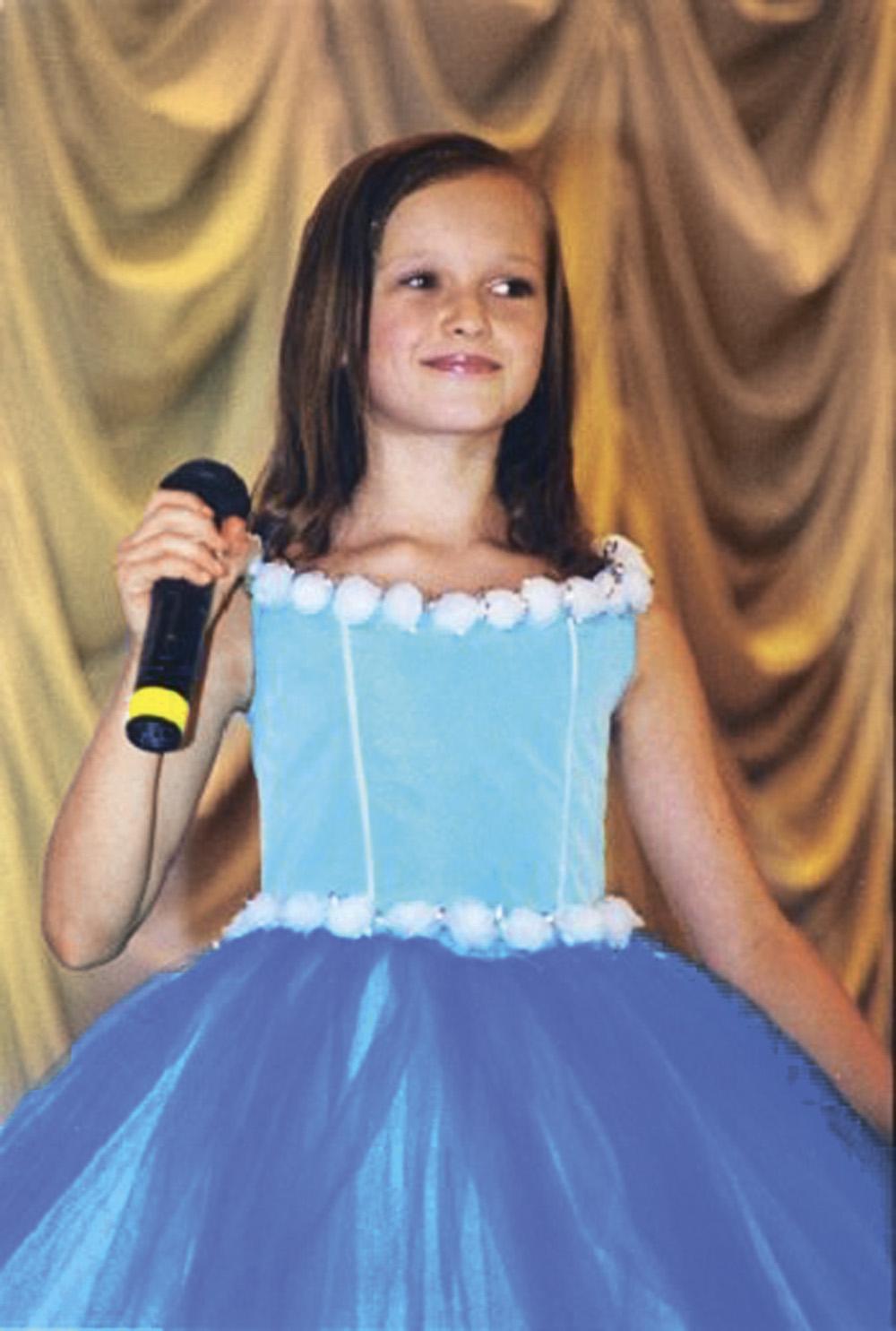 Мария Яремчук в детстве