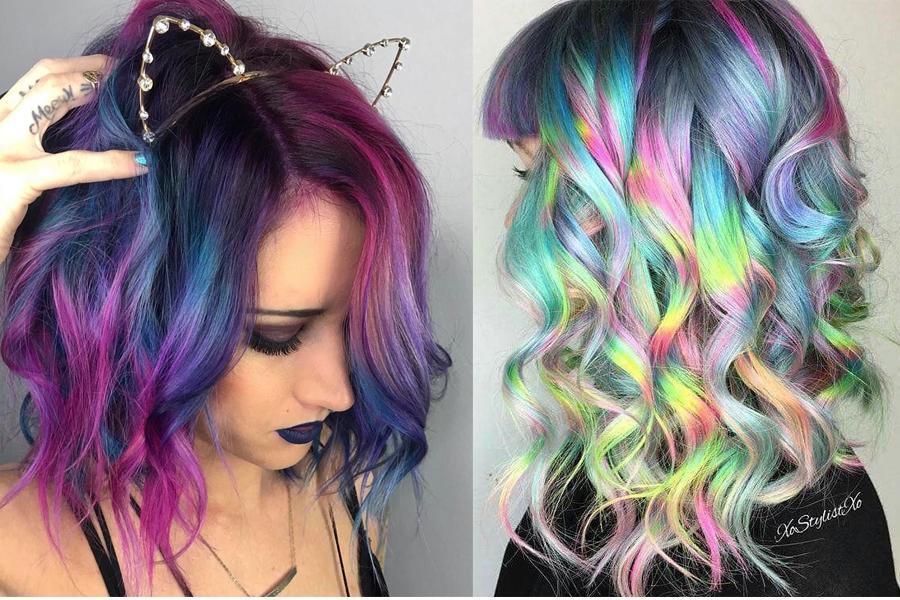 unicorn hair, единорог