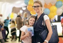 Лидия Таран с дочерью