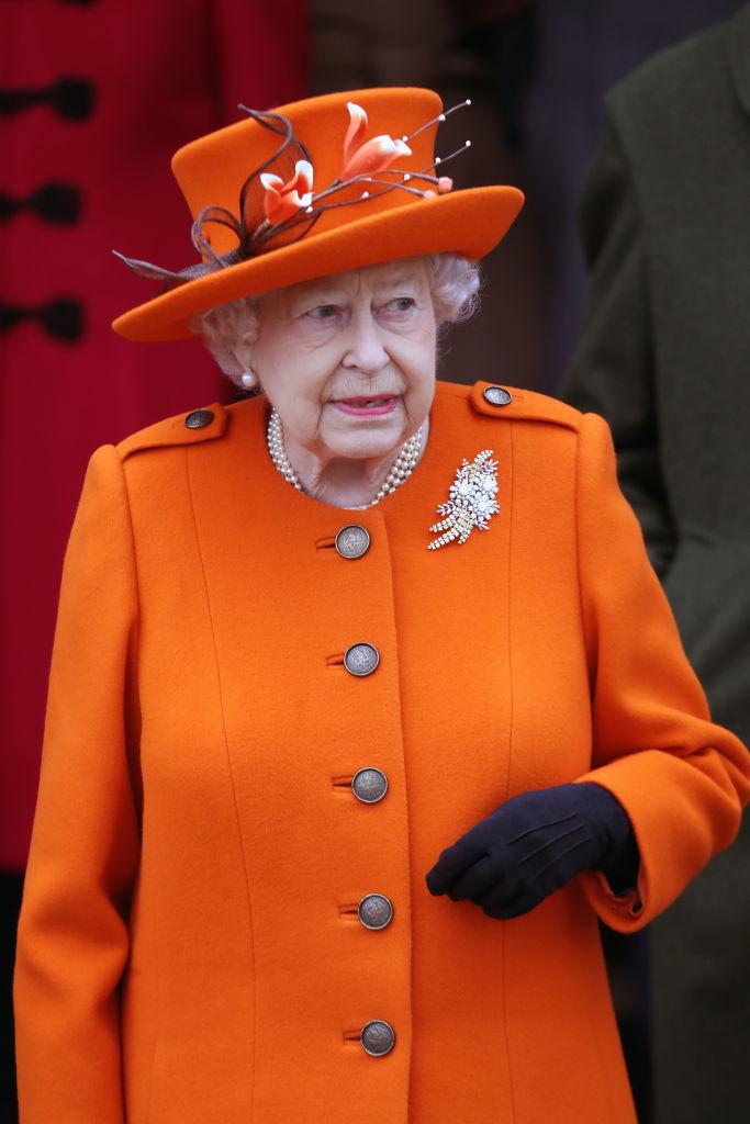 Королева Елизавета 2017