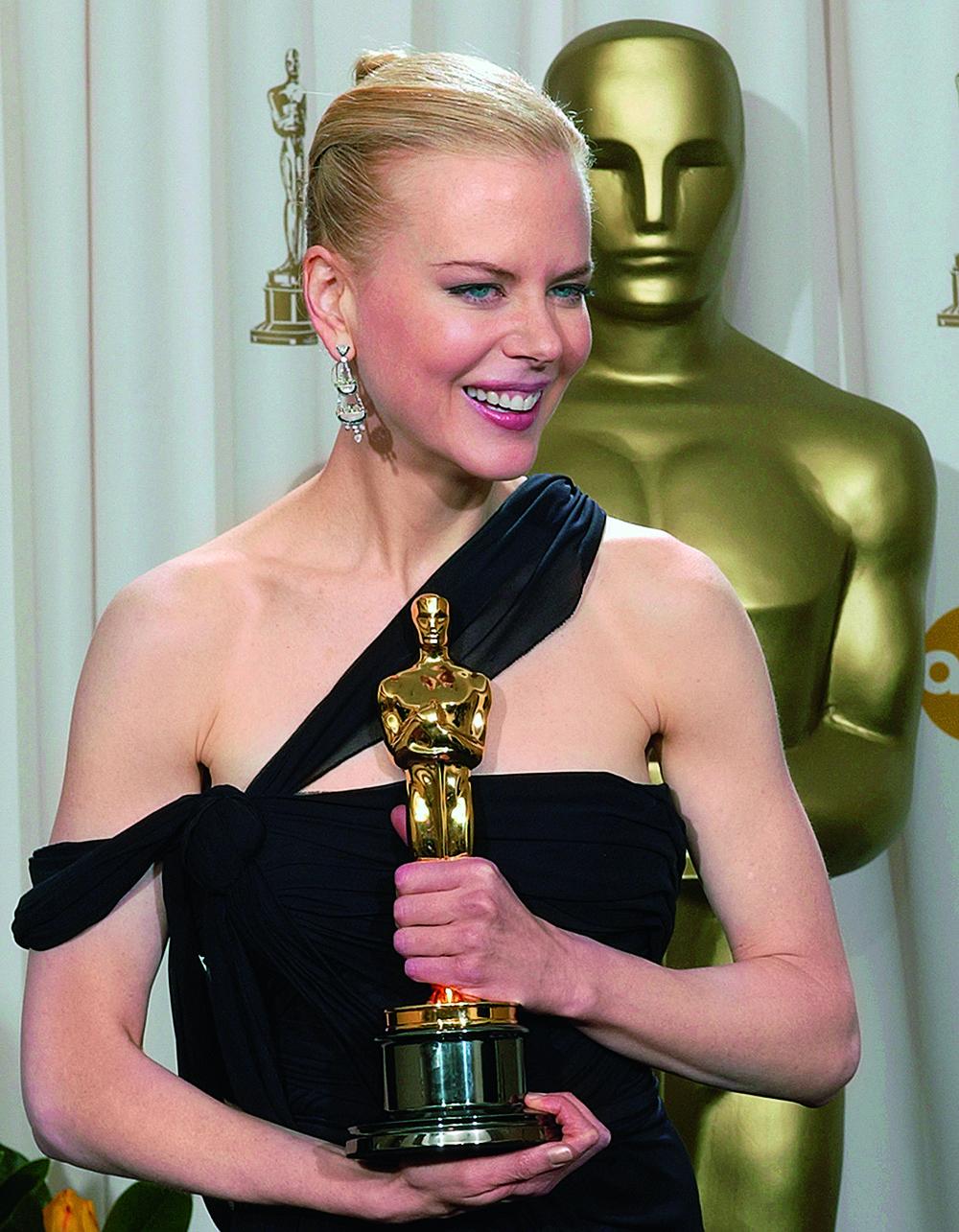 """Николь Кидман на 75-ой церемонии вручения премии """"Оскар"""", 2003"""