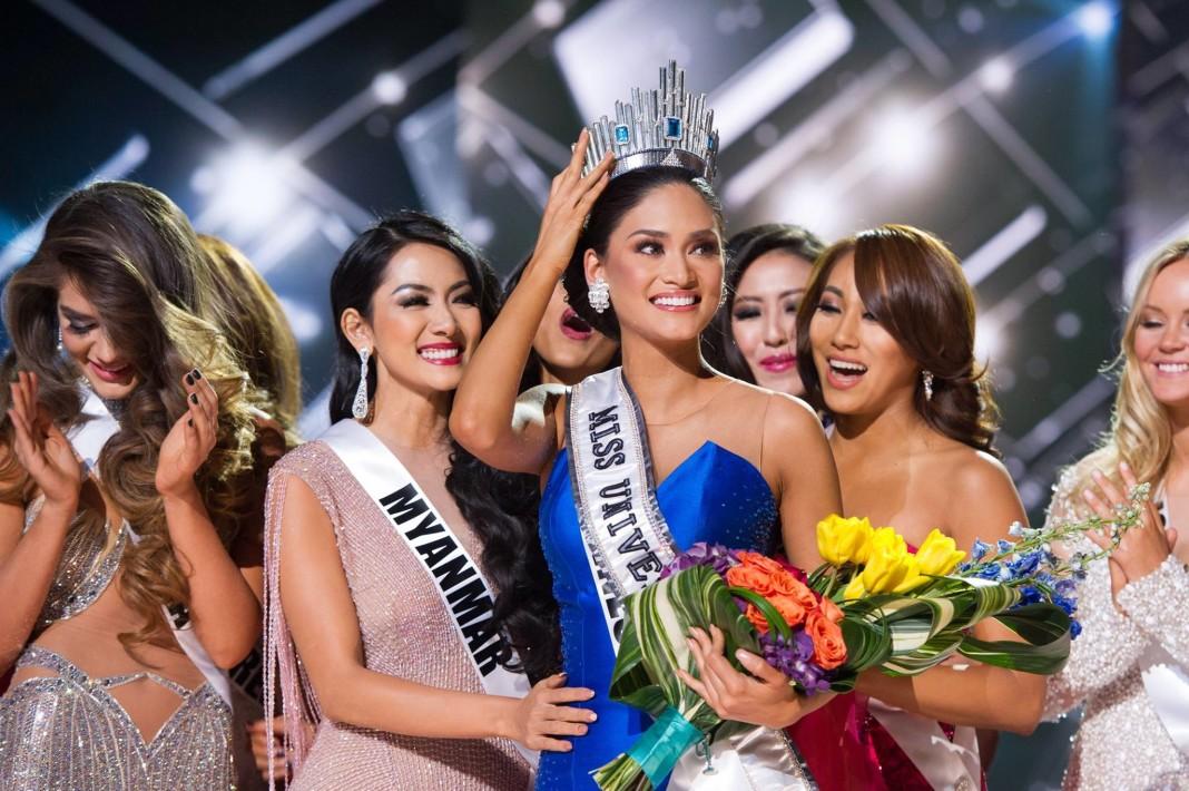 Пия Вруцбах Мисс Вселенная-2015