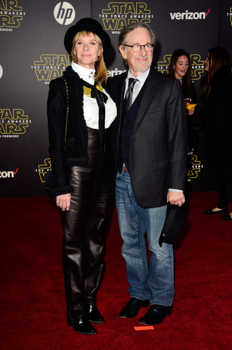 """attends the premiere of Walt Disney Pictures and Lucasfilm's """"Star Wars: The Force Awakens"""" on December 14th, 2015 in Hollywood, California."""