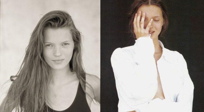 Кейт Мосс первая фотосессия