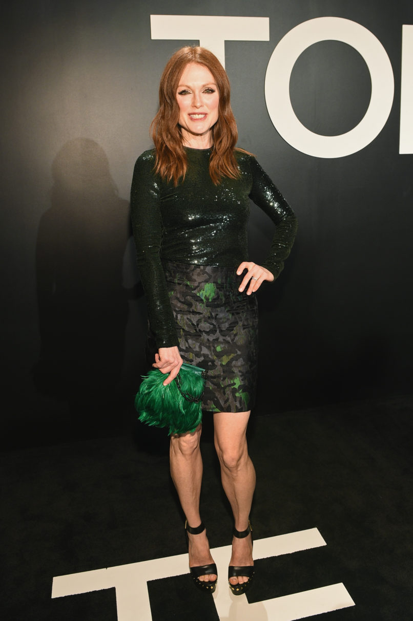 attends the TOM FORD Autumn/Winter 2015 Womenswear Collection Presentation at Milk Studios in Los Angeles on February 20, 2015.
