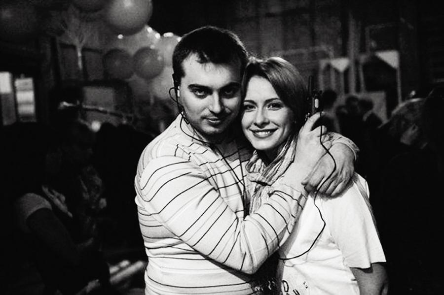 Елена Кравец с мужем фото
