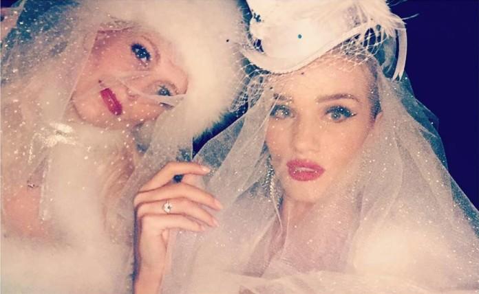 Роузи Хантингтон-Уайтли невеста