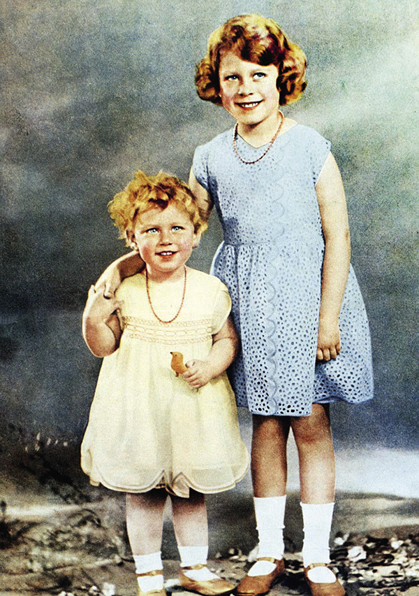 Принцесса Елизавета и принцесса Маргарет