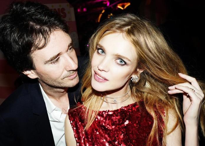 Наталья Водянова с мужем Антуаном Арно