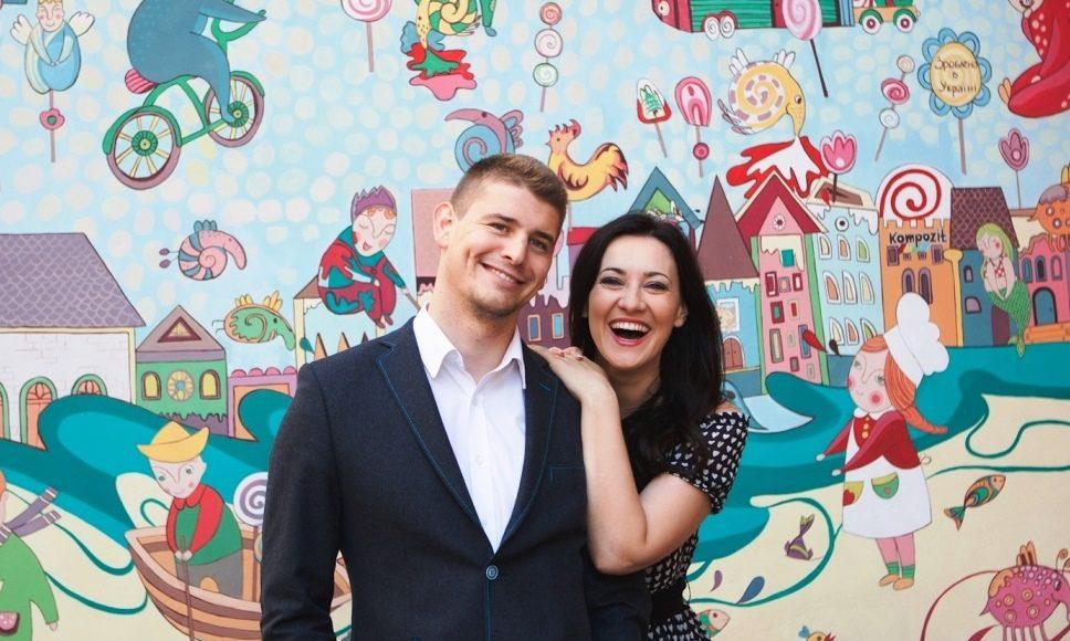 Соломия Витвицкая с мужем