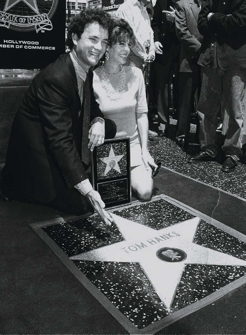 Том Хэнкс Хенкс в молодости фильмы день рождения вторая жена Рита Уилсон аллея славы