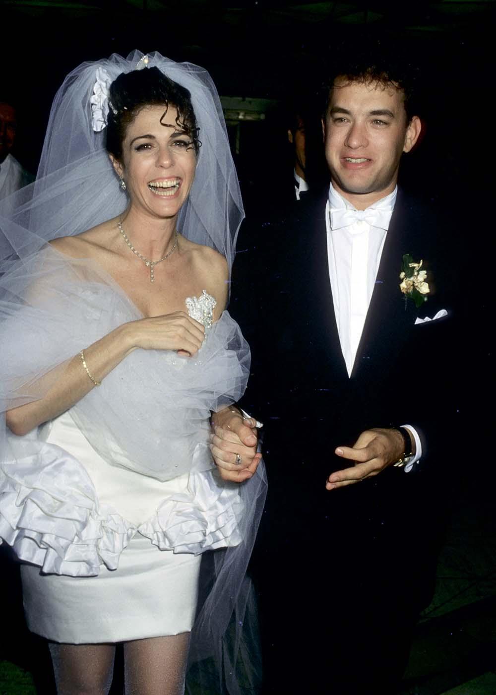 Том Хэнкс Хенкс в молодости день рождения свадьба вторая жена Рита Уилсон