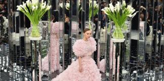 Лили-Роузх Депп на показе Chanel Spring Summer 2017