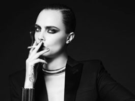 Кара Делевинь в рекламе YSL