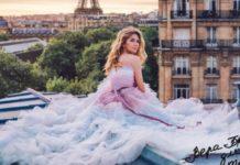 Вера Брежнева в Париже