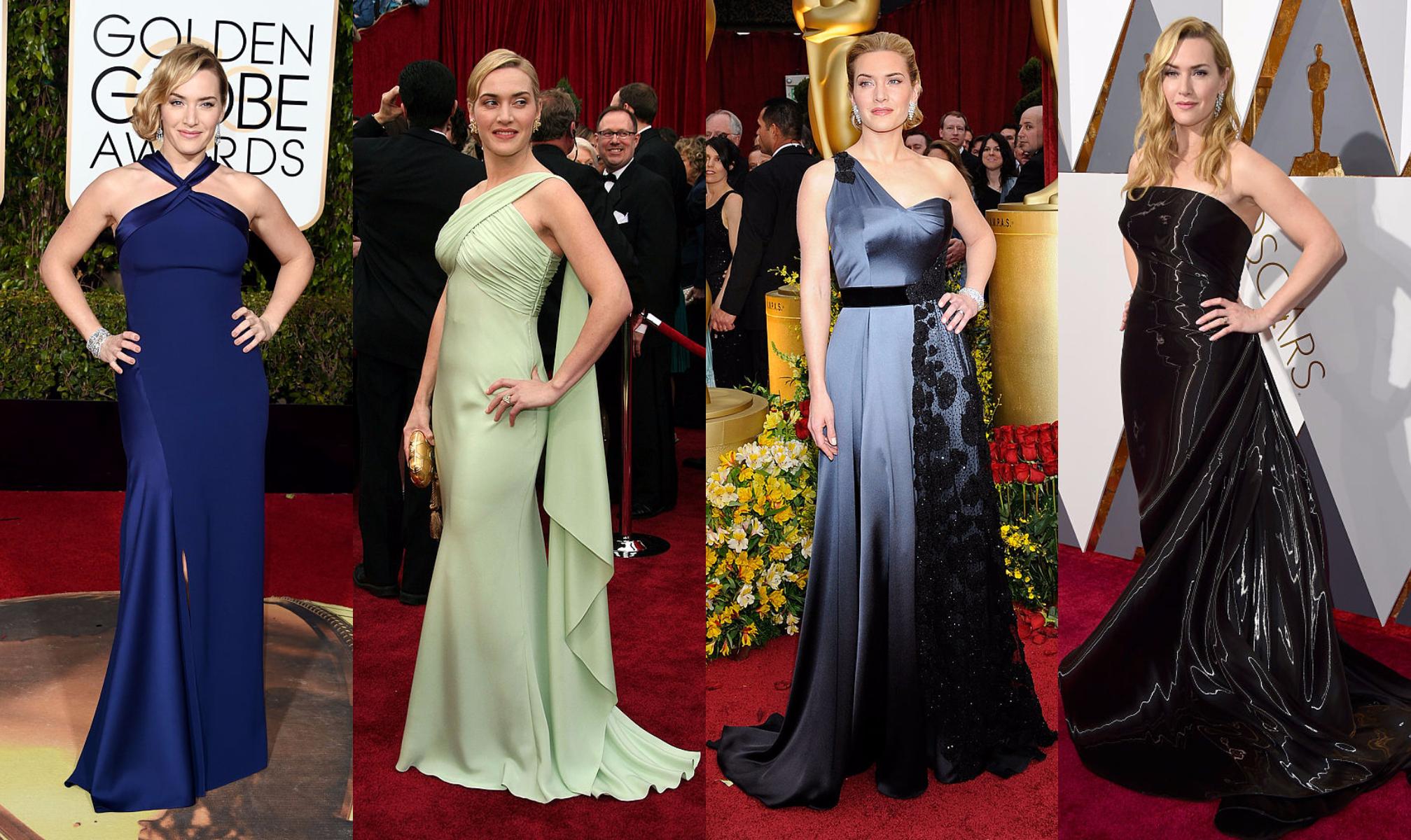 0ae6ab3ce410 Лучшие вечерние платья Кейт Уинслет за последние 20 лет   Караван