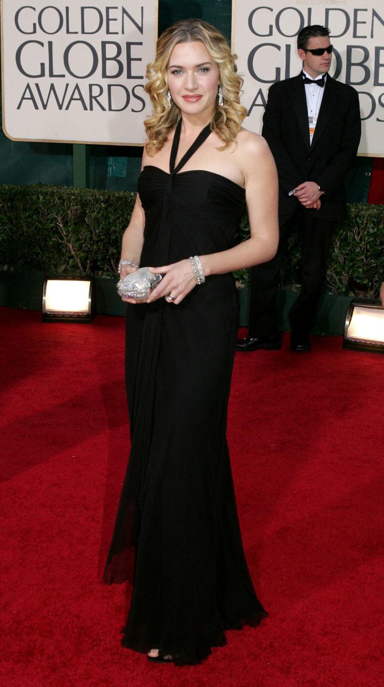 Кейт уинслет черное вечернее платье