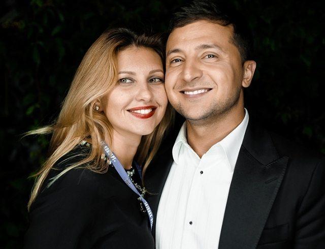 Владимир Зеленский трогательно поздравил жену с Днем ... блейк лайвли стиль