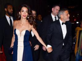 Амаль и Джордж Клуни фото 2018