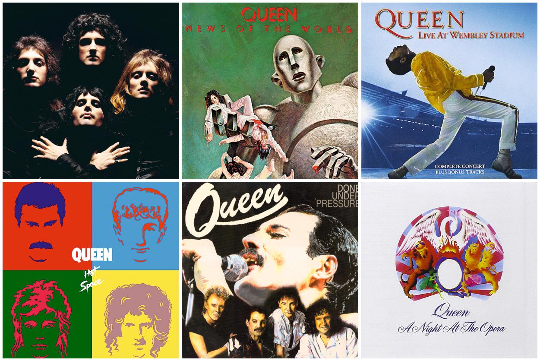 Альбомы Queen