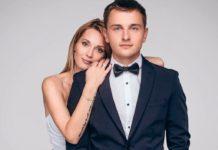 Аида Николайчук с мужем