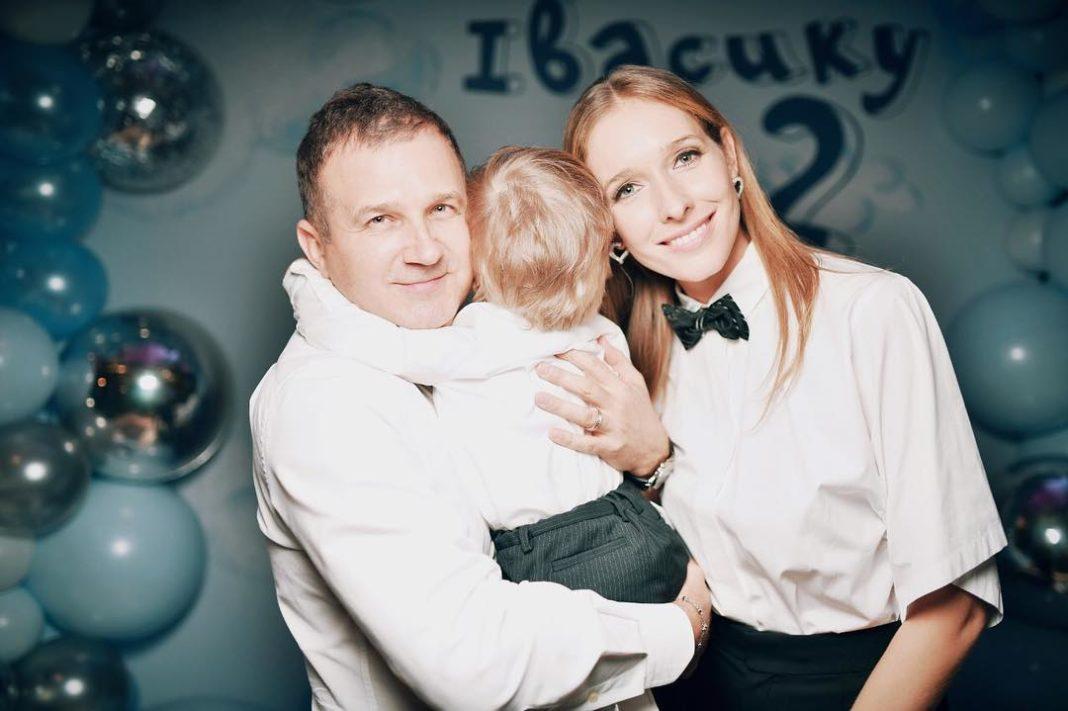 Горбунов и Осадчая с сыном