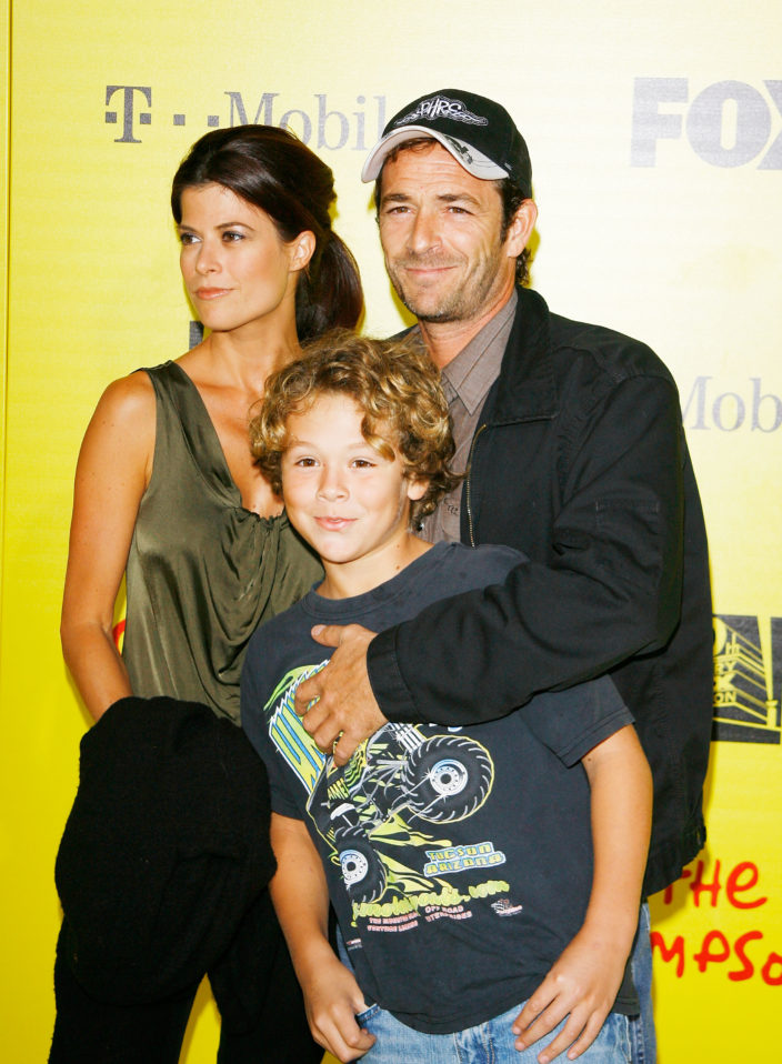 Люк Перри семья