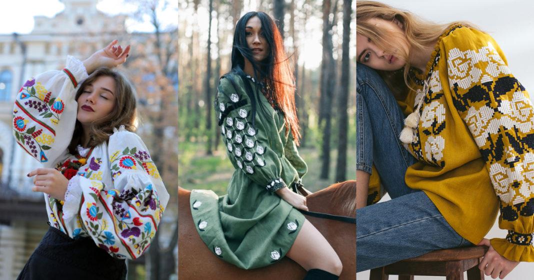 модные вышиванки