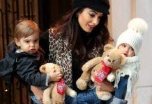 Амаль Клуни с детьми
