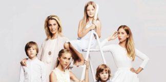 Снежана Егорова и ее 5 детей