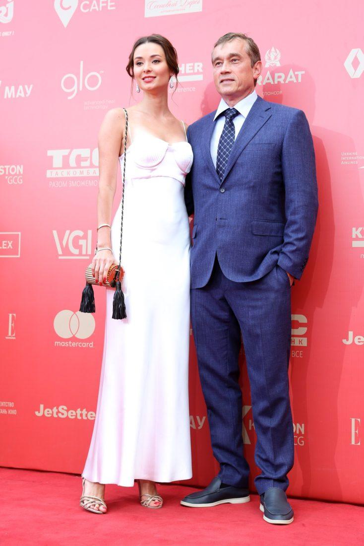 Зоя Литвин с мужем