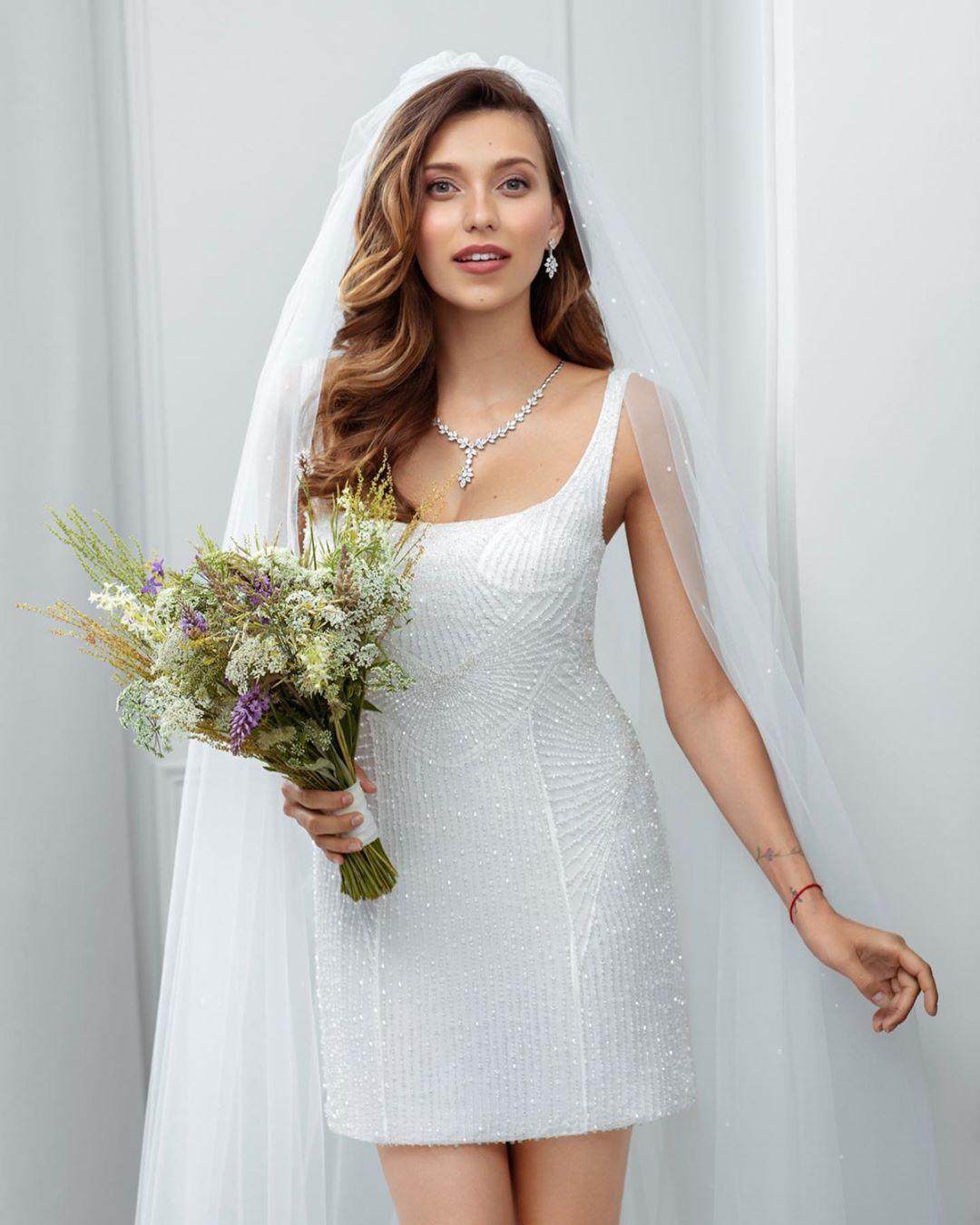 Регина Тодоренко свадебное платье