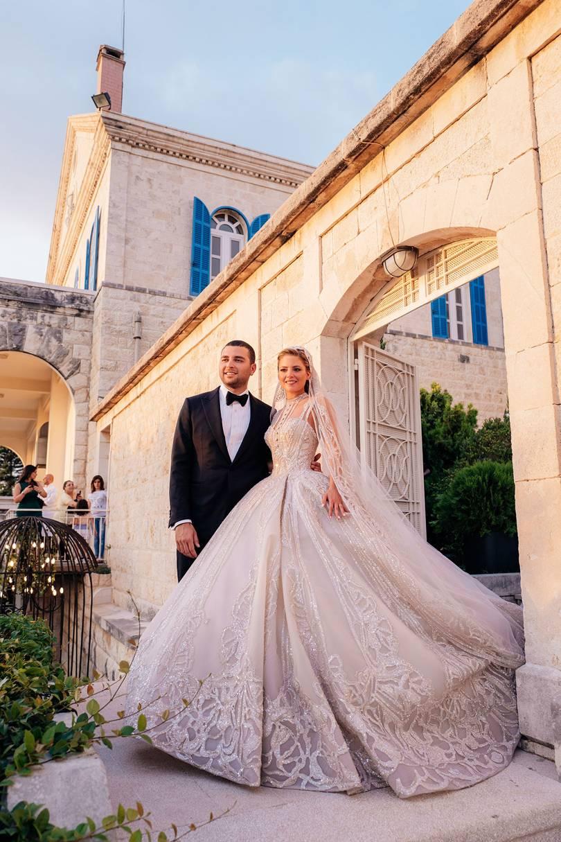 Свадьба Эли Сааба-младшего и Кристины Мурад