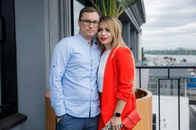 Юля Фомина с мужем