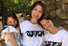 Милла Йовович с дочерями