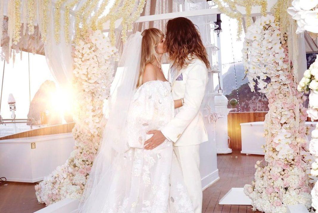 Свадьба Хайди Клум и Тома Каулитца