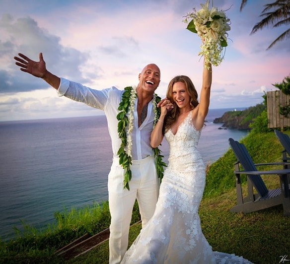 Свадьба Дуэйна Джонсона
