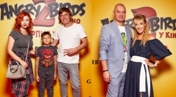 Казанин и Кошевой с семьями